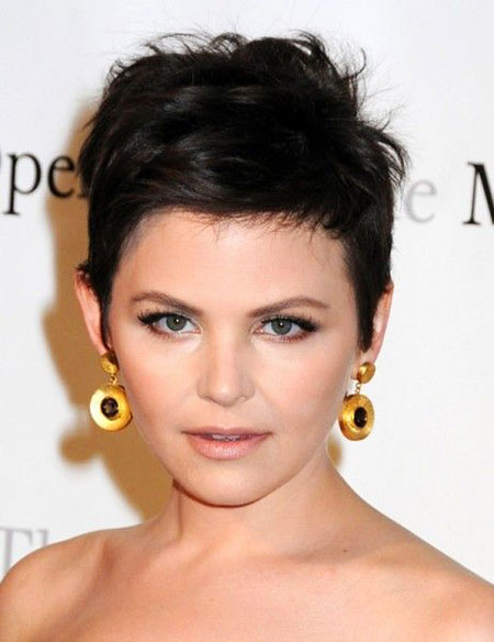 23 Cute Short Hairstyles For Round Faces Hairstyles Haircuts 2017