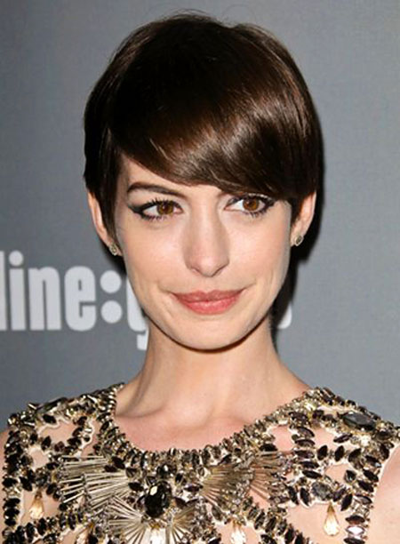 Short Hair with Straight Bangs - 6
