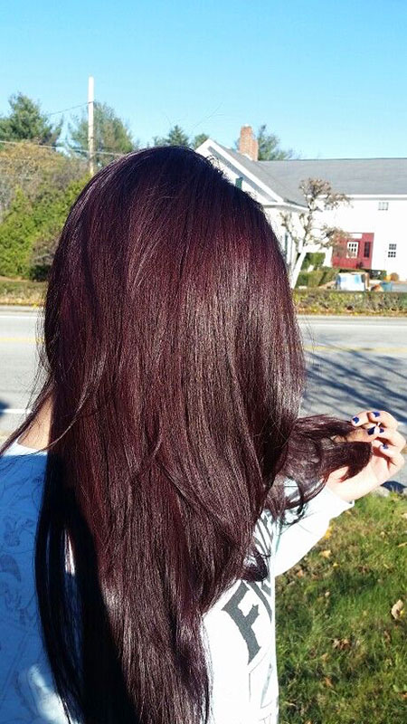 Brown and Burgundy Hair, Hair Brown Color Cherry