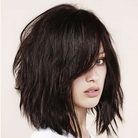 Choppy Layered Haircut, Layered Hairtyles Hair Brown