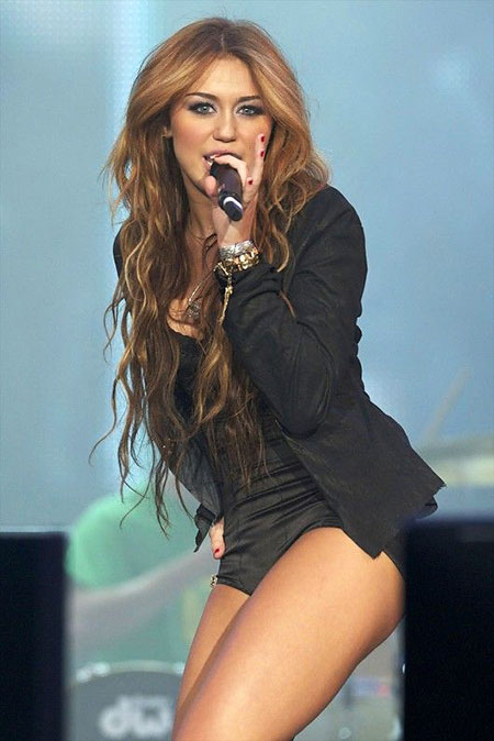 Miley Cyrus Long Hair, Miley Cyrus Long Celebrities