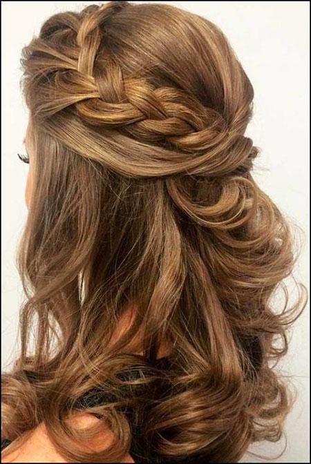 Pretty Hairtyle for Medium Hair, Hairtyles Medium Wedding Hair