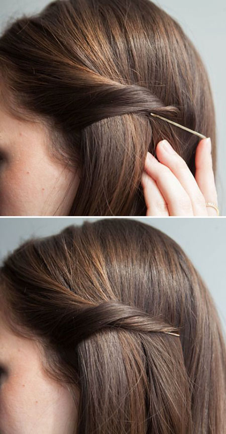1 Simple Hairtyle For Straight Hair