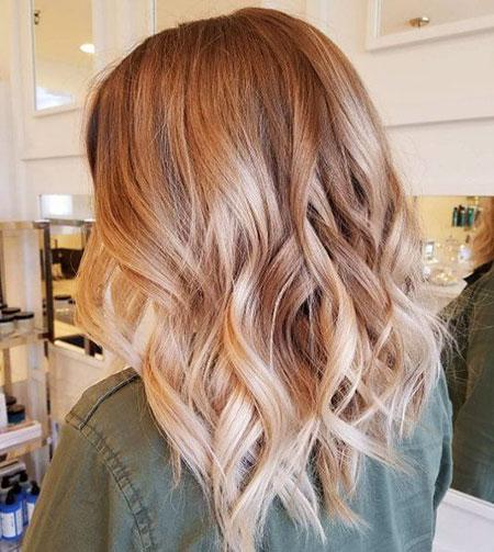Blonde Hair Balayage Hairtyles