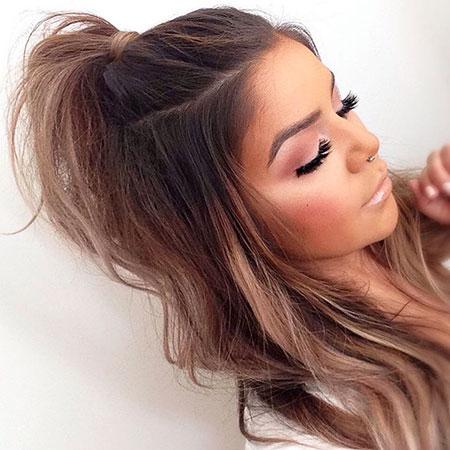 Hair Cute Makeup Ponytail