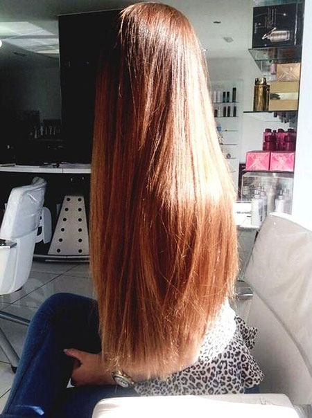 Long Ombre Color Hair