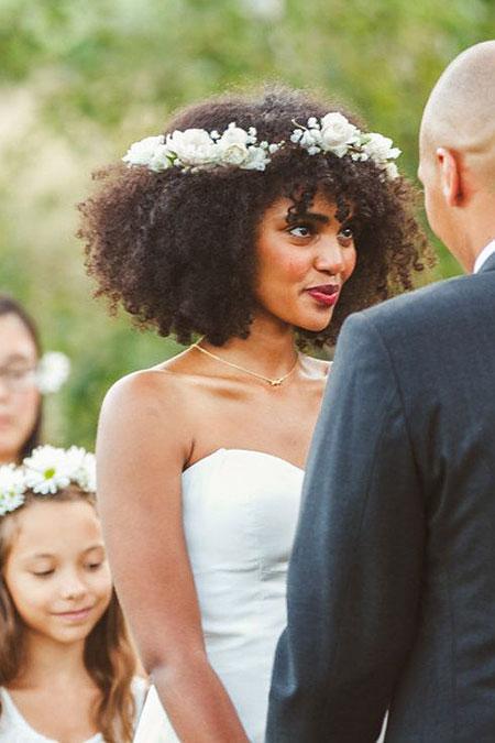 Hair Wedding Natural Styles