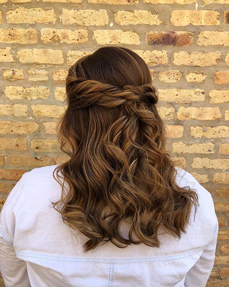 Hair Hairtyles Wedding Medium