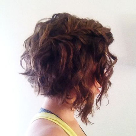 Curly Bob Hair Wavy