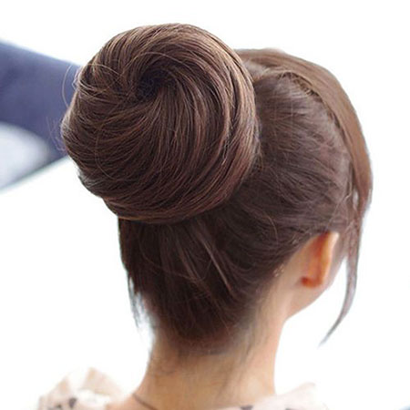 Hair Bun Hairtyles Women's