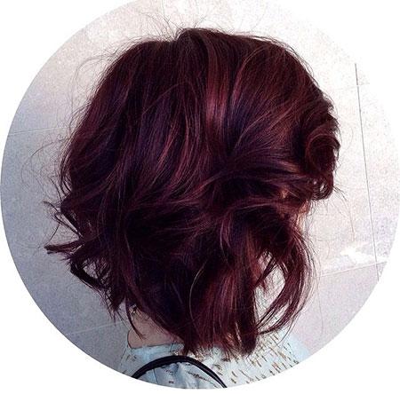 Hair Plum Brown Burgundy