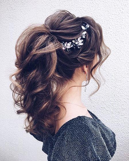 Wedding Hairtyles Ponytail Updo