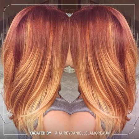Hair Blonde Strawberry Gold