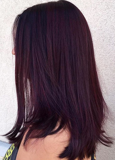 Hair Color Burgundy Brown