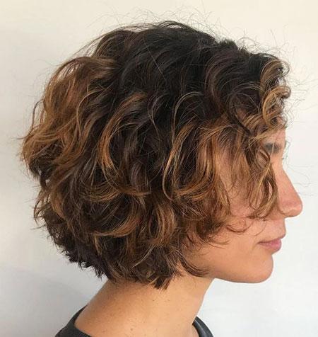 Curly Bob Wavy Hairtyles