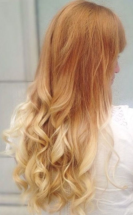 Blonde Hair Strawberry Gold