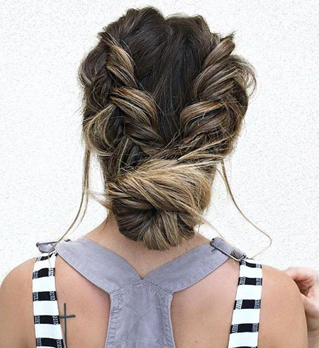 Low Updo Hair Hairtyles