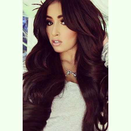 Hair Burgundy Color Brown
