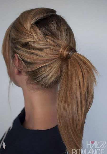 Hairtyles Ponytail Hair Braid