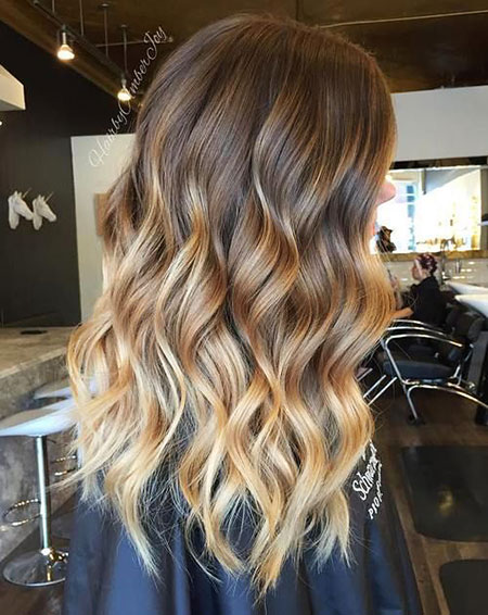 Balayage Hair Blonde Ombre