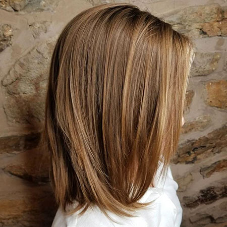 Hair Lob Girls Layered