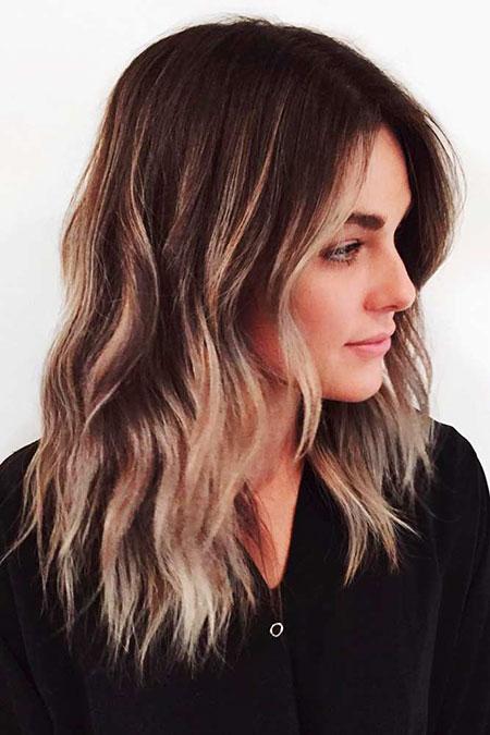 Hair Balayage Medium Length
