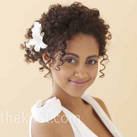 Hair Curly Styles Wedding
