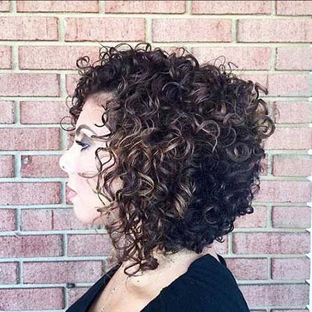 Curly Hair Bob Hairtyles