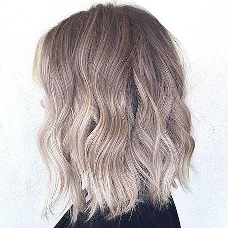Blonde Hair Balayage Bob