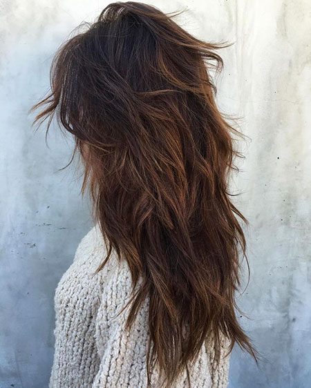Layered Layers Hair Curly