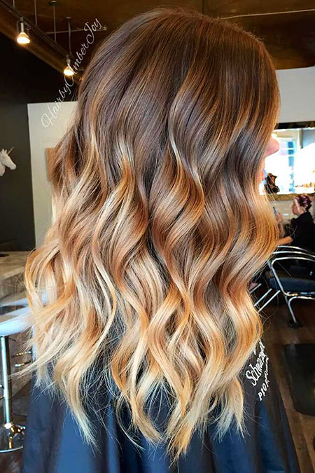 Hair Balayage Ombre Brown