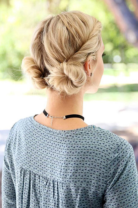 Hairtyles Easy Spring Updo
