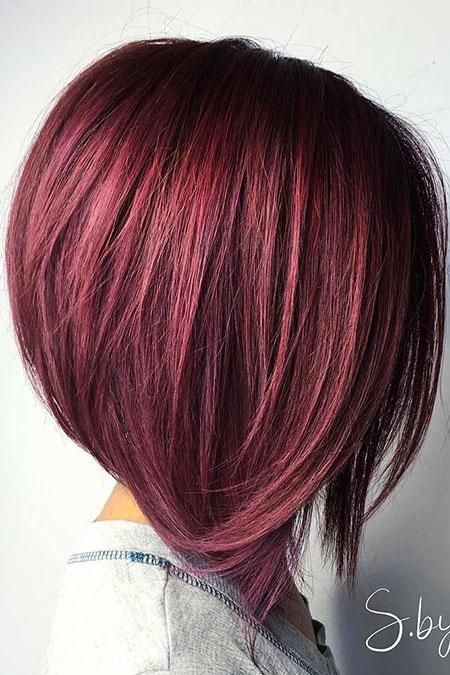Long Bob Haircut for Thick Hair, Hair Bob Hairtyles Color