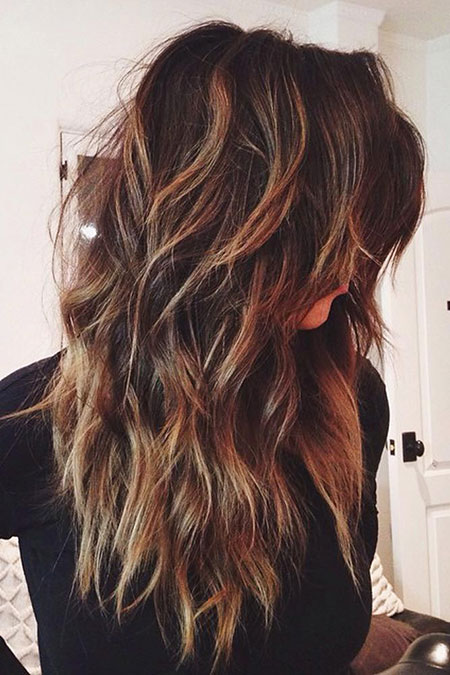 Choppy Layers, Hair Long Layered Styles