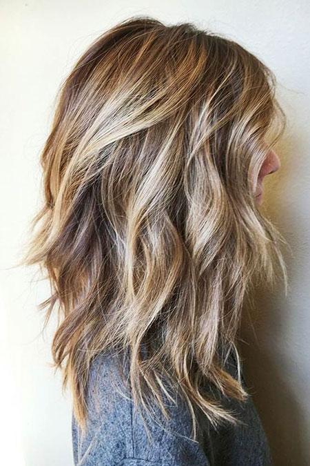 Medium Length Layered Haircut, Hair Hairtyles Long Layers