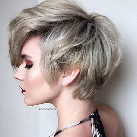 Pixie Choppy Long Silver