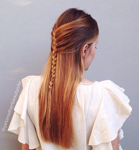 Hair Updo Thin Long