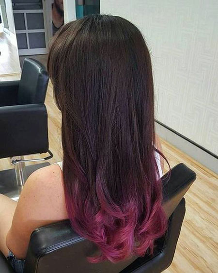 Hair Ombre Dye Black
