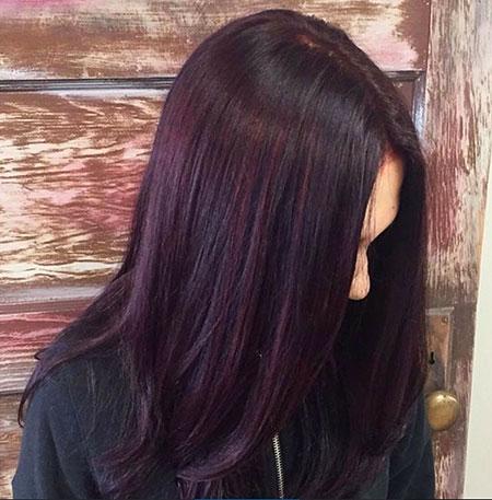 Hair Color Burgundy Purple