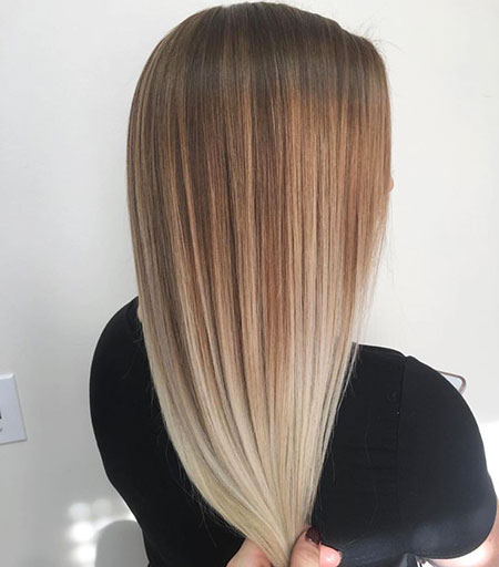 Balayage Hair Ombre Color