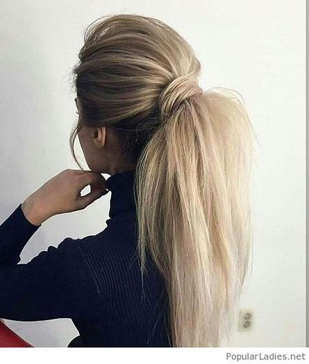 Hairtyles Ponytail Hair Wedding