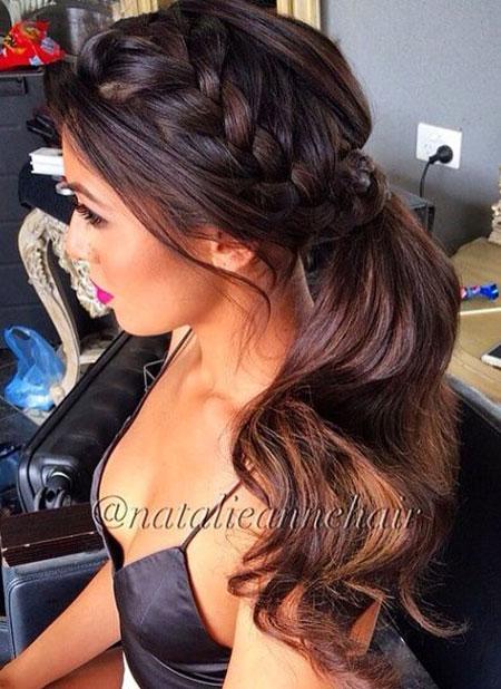 Wedding Hairtyles Hair Ponytail