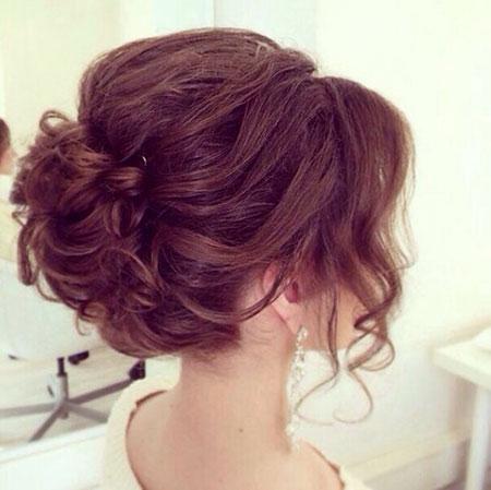 Cute Updo Bun, Updo Hair Prom Hairtyles