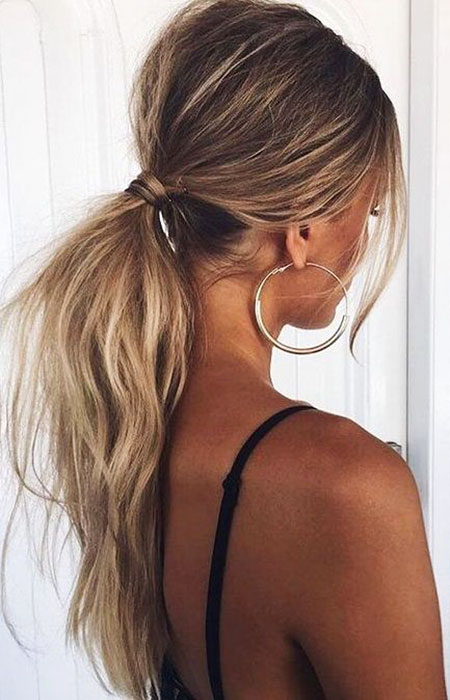 Messy Low Ponytail, Ponytail Hairtyles Hair Prom