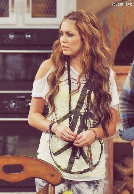 Hannah Montana Hairtyle, Miley Cyrus Hairtyles Haircuts