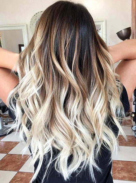 Blonde Ombre Trend, Hair Balayage Hairtyles Ombre