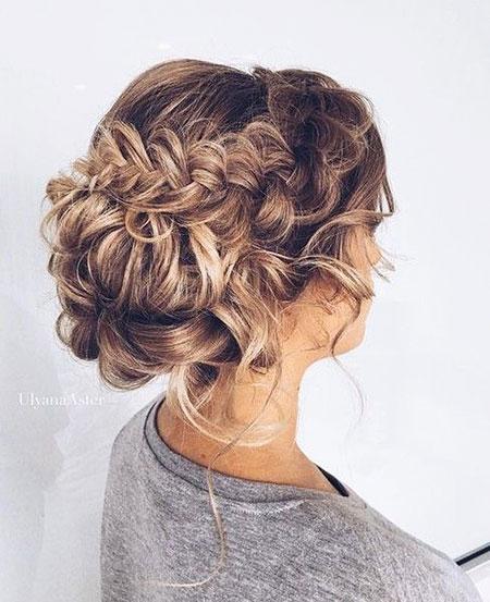 Prom Up Hairtyle, Hair Pretty Wedding Braided