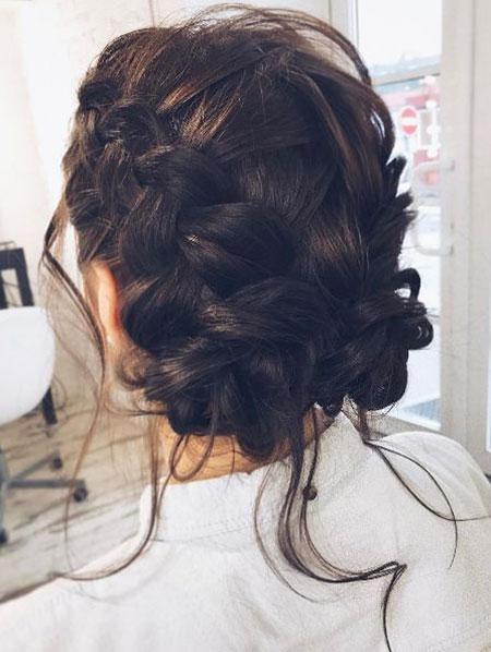 Messy Bun, Hair Wedding Hairtyles Braids
