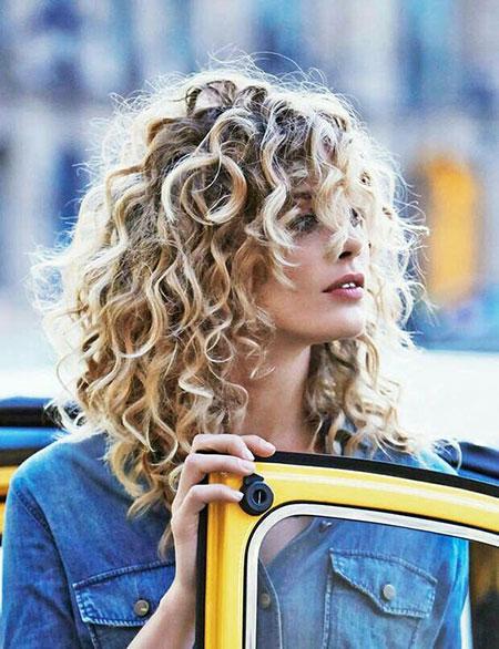 Curly Hair Styles Easy