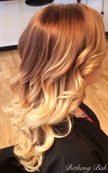 Blonde Hair Ombre Balayage
